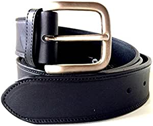 Cinturón piel hombre Belt calapiel hebilla acero Mode fabricado en España: Amazon.es: Hogar