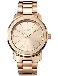 JBW Women's J6306B Analog Display Japanese Quartz Rose Gold Watch