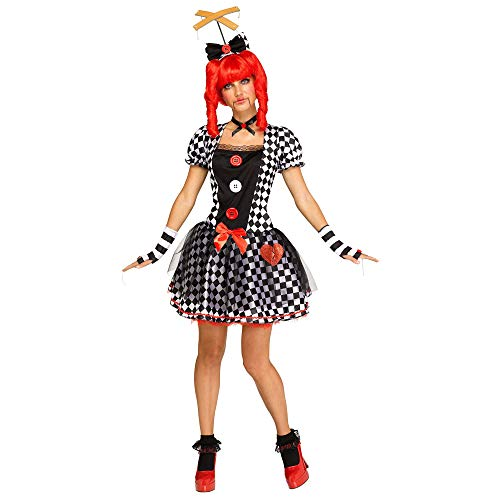 Fun World Women's Marionette Doll, Multi, M/L Size 10-14