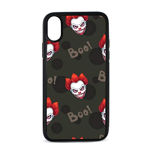 Iphone Clown Spanish Culture Mexican Festival Skull Art Design Retro Flower Digital Print Tpu Pc Pearl Plate Cover Phone Hard Case Accessories Compatible With Protective Apple Iphonex/xs Case 5.8 Inch -