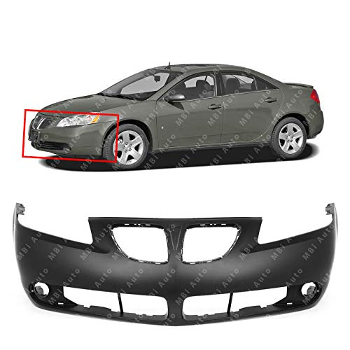 MBI AUTO - Primered, Front Bumper Cover for 2005 2006 2007 2008 2009 Pontiac G6, ()