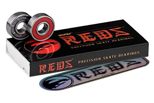 Bones Reds Skateboard Bearings - Red
