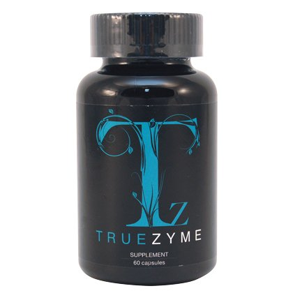 TrueZyme Digestive Enzyme Blend 60 capsules - 3 Pack by YNG