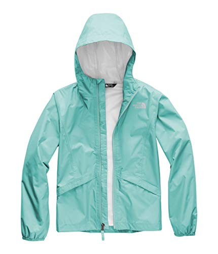 The North Face Kids Girl's Zipline Rain Jacket (Little Kids/Big Kids) Mint Blue XX-Small ()