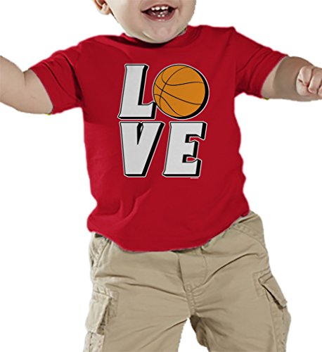 Toddler Infant Love Basketball T shirt