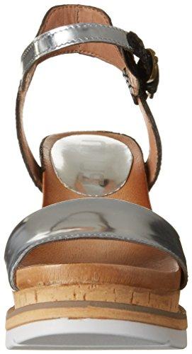Mjus Damen 872015-0402 Sandalen Silber (Argento Nero)