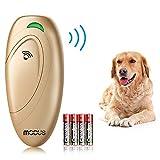 Modus Ultrasonic Dog Bark Deterrent, Dog Barking Control Devices Dog Trainer 2 in 1 Control Range of 16.4 Ft W/Anti-Static Wrist Strap LED Indicate Walk a Dog Outdoor Safe