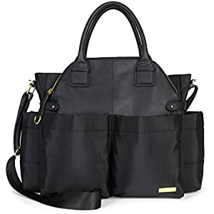 skip hop chelsea downtown chic diaper satchel. Black Bedroom Furniture Sets. Home Design Ideas