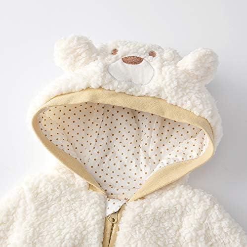 Auro Mesa Unisex Baby Fleece Jackets /& Coats Baby Girl boy Winter Clothes Infant Jackets Coat Hooded Little Boys Toddler Coat
