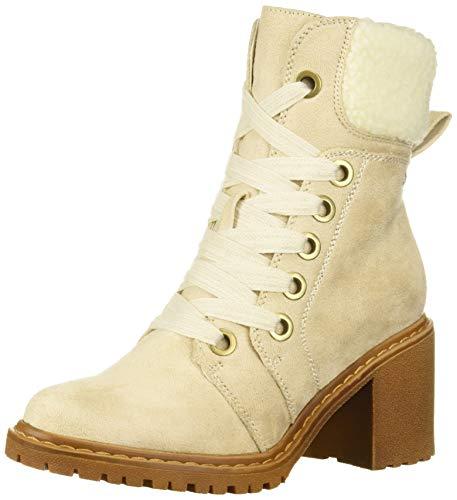 Roxy Women's Whitley Fashion Boot, White, 7.5 M US