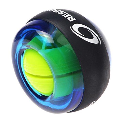 RESBO Wrist Trainer Wrist Ball Hand Spinner Gyroscopic Ball Arm Strengthener Forearms Exerciser by RESBO