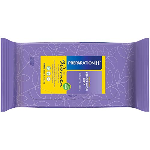 Preparation H Women's Flushable