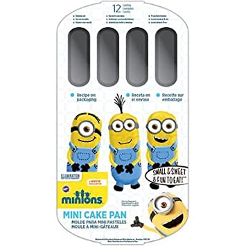 Amazoncom New Wilton Minion Mini Cake Pan Despicable Me Party