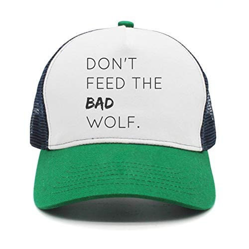 Don't Feed The Bad Wolf Cool Hat Mesh Trucker Hats