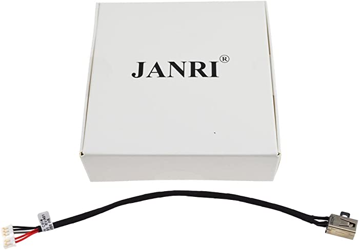 JANRI Replacement 450.03006.0001 Power Jack Port Socket Harness Connector Charging Plug DC in Cable for Dell Inspiron 14-3451 14-i3451 3452 14-3452 14-i3452 Inspiron 15-3000 3551 3558 3552