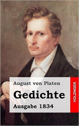 August von Platen: Gedichte; Gay-Bücher alphabetisch nach Titeln