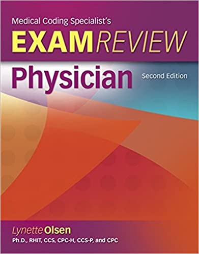 Medical Coding Specialists's Exam Review-Physician (Exam Review Guides)