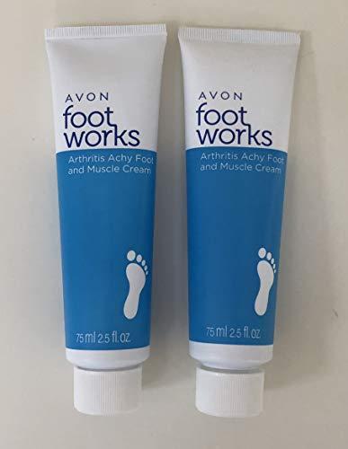Foot Avon - 2 Foot Works Healthy Arthritis Achy Foot & Muscle Creams