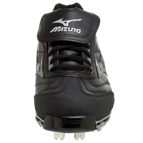Mizuno Mens Mizuno Pro Low G4 Baseball Cleat Black/Silver DAA519n