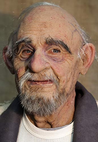 Realistic Silicone Mask Old Man