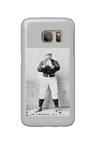 New York Giants - Jim O'Rourke - Baseball Card (Galaxy S7 Cell Phone Case, Slim Barely There)
