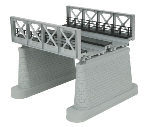 MTH 40-1108 O 2-Track Silver Girder Bridge