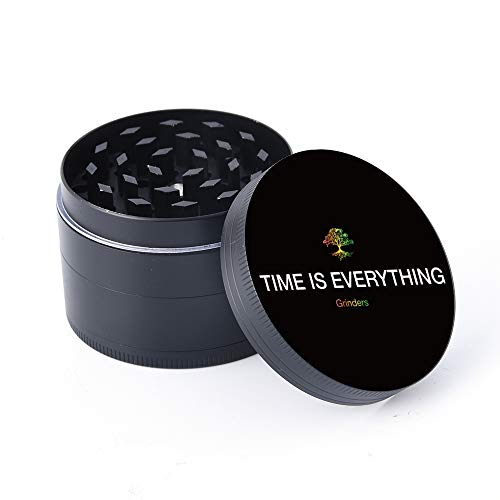 Time Is Everything Spice Herb Grinder, 4 Piece 2
