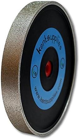 Grit 320 Kent 8 Diam x 1 Width Diamond Lapidary Jewelry Grinding Wheel