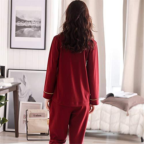Pigiama Giacche Meaeo Con Pigiama Grande Pigiameria Notte Vestito Pigiama Da Carino Homewear Cardigan Color Photo Addormentato Nuovo Risvolto 5r1nr0SF
