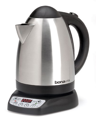 Bonavita 1.7-Liter Variable Temperature Digital Electric Kettle