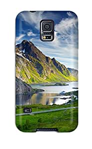Defender Case With Nice Appearance (nordic Landscapes) For Galaxy S5