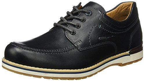 Negro Noir de men 51 Hombre Lee Zapatos Derby Cordones FRETZ para 84Cgzqwxz
