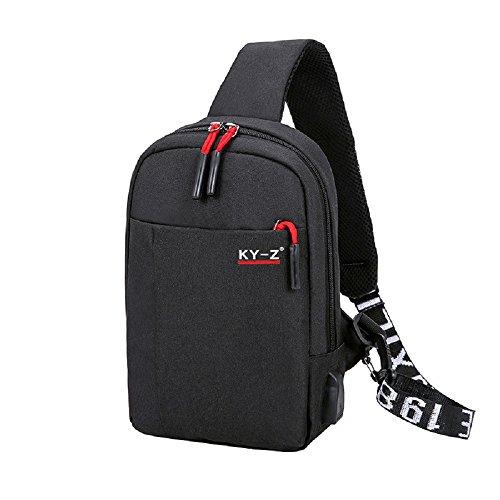 Zhrui Bag For Black For Bag Zhrui Men vvUwr