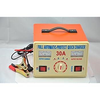 Amazon Com 12v 24v 48v 30a Lead Acid Battery Charger Car