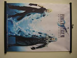 """Final Fantasy VII Game Fabric Wall Scroll Poster (16""""x22"""") Inches"""