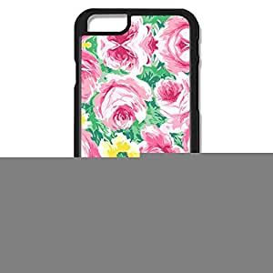 Designed Funny Plastic Case Hand Painted Flower For IPhone 6