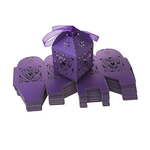 UNIQLED Wedding Chocolate Bridal Ribbons