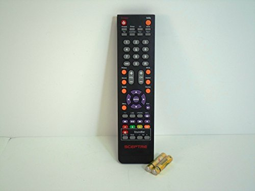 SCEPTRE REMOTE CONTROL VERSION 2 FOR E243BD-FHD