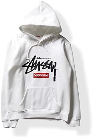 Stussy Round Neck Hoodies For Unisex