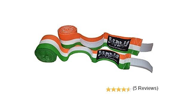 Vendas de Boxeo – Bandera de Irlanda – 450 cm (180 cm) – Mortal Fight Gear – de Boxeo y Artes Marciales Mixtas: Amazon.es: Deportes y aire libre