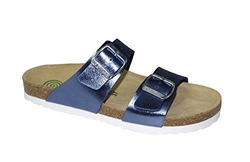 Women's Pantolette 36 37 38 39 40 41 blue Dr. Brinkmann 700993-5 Soft  footbed: Amazon.co.uk: Shoes & Bags