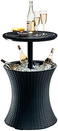 Scotrade Fabuloso 2 en 1 Keter Cooler Bar mesa de fiesta mesa café ...
