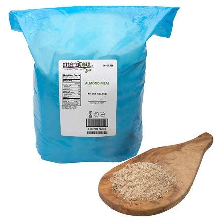 Manitou Raw Almond Meal, 5 lbs by Manitou Raw Almond Meal