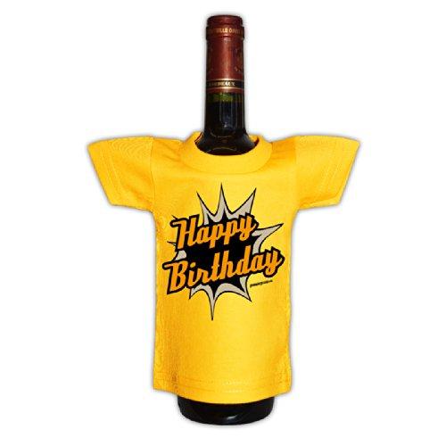 Modisches Herren Fun-T-Shirt als ideale Geschenkeidee im Set zum 50. Geburtstag + Mini Tshirt Jahrgang 1967 Farbe: dunkelrot