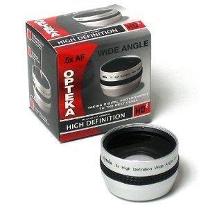 Opteka 0.5 X hd2 Wide Angle Lens for Sony dcr-dvd408、dvd508、dvd808、dvd908、hc1000、hc85、ip210 ip220、、pc100、pc110、pc115、pc120 pc330、、sr190、sr200、sr290、sr300、sx45 sx65 sx85、、、tr7000、tr7100、trv103、trv110、trv120、trv130、trv140、trv145、trv147、trv150、trv203、trv210、trv230、trv240、trv245、trv250、trv250、trv260、trv265、trv270、trv280、trv285、trv30、trv310、trv315、trv320、trv330、trv340、trv345、trv350、trv351、trv355、trv356 and dcr-trv361デジタルビデオカメラ   B0068RR5BG