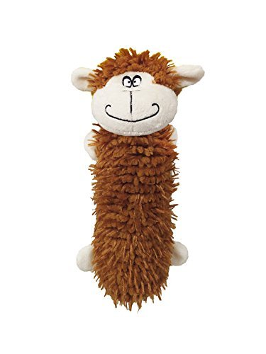 Water Bottle Dog Toys | Monkey Water Bottle Toy | 11 Inch | Plush Dog Toy | We Squeak! by Scoochie