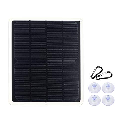 - Solar Panel,Farway 10W 12V 600mA 2101752.5mmMonocrystalline Silicon Solar Panel with Rear Junction Box & Single USB Connect