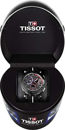 (Tissot T-Race Grey Dial Silicone Strap Men's Watch T0924173706101)