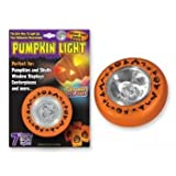 Pumpkin LED Candle Light - Colors may vary.