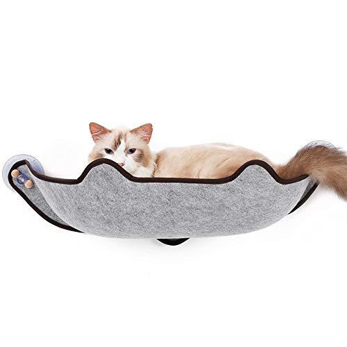 Ventana montada hamaca para gato EVA Sillín de la ventana Gato Hamaca Gato Súper Fuerte Tipo de ventosa Secador al sol...